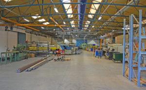 HMA Langeskov har 1.200 kvadratmeter produktionsareal